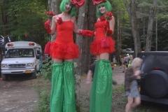 New Bedford Boston Massachusetts Stilt Walker Costume